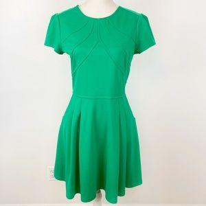 Gianni Bini Fit & Flare Emerald Green Dress M
